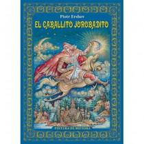 El álbum de cuentos de hadas El pequeño caballo jorobado en español