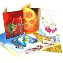 """Postal """"Feliz cupleaños"""" 122х187 mm,"""