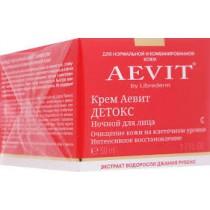 Aevit Crema de Noche, Detox 50 ml