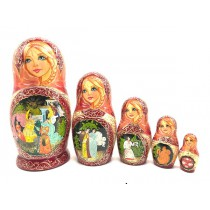 "Matroska ""Gallo dorado"", 20 cm"