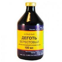Alquitrán de corteza de abedul, 100 ml