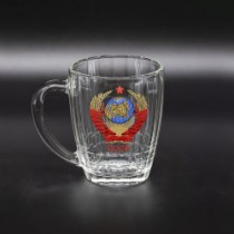 Jarra de cerveza con escudo de URSS, 0,6 l