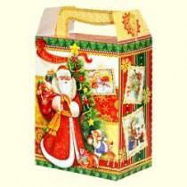 """Caja plegable para bombones """"Carta de Papa Noel"""""""