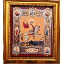 "Icono ""San Jorge"", 20*23  cm"