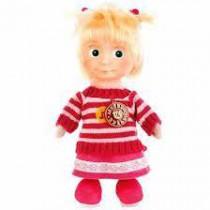 """Peluche """"Multi-Multi"""" Masha con un suéter, 29 cm (Masha y el oso),habla"""