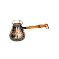 Turka de cobre con dibujo, 400 ml