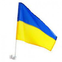 Banderin para coche Ucranial