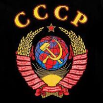 """Camiseta """"Escudo СССР"""", negro"""