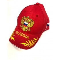 """Gorra """"Rusia"""" roja"""