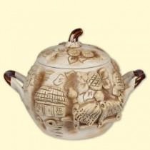 """Sopera de cerámica 3L """"Casa rica"""""""