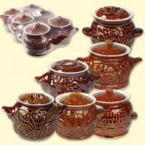 """Un conjunto de ollas de cerámica de """"Winnie the Pooh""""  0,65 l (6 unid.).)"""