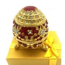 Replica de Huevo Faberge , 7 cm