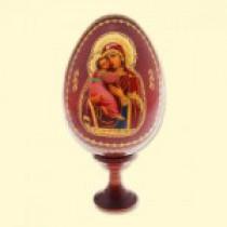 """Huevo de Pascua """"Vladimirskaya"""", 10 cm"""