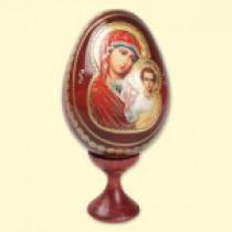 """Huevo de Pascua con icono """"Kazanskaya"""""""