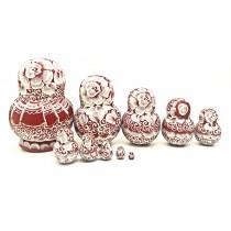 Matrioska, 20 cm., 10 piezas.