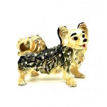 Caja perros Faberge, 5 * 6 cm.