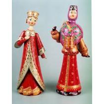 Muñeca en traje típico, 25 cm