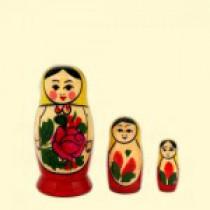 """Matrioska """"Semenovskaya"""" (M3) 7см"""