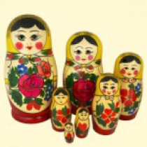 "Matrioska ""Semenovskaya"" (M7) 17 cm"