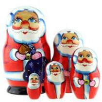 "Matrioshka ""Papa Noel"", 15 cm"