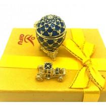 Replica de Huevo de Faberge, miniatura