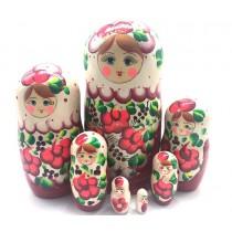 Muñeca rusa Verano, 7 piezas