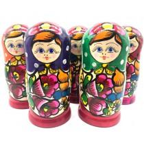 Muñeca rusa de 5 piezas,