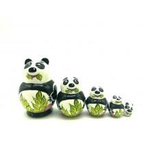 "Muñeca rusa mini ""Panda"", 4 cm"
