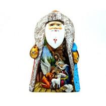 """Papa Noel """"Navidad"""" de madera"""