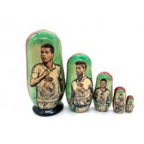 "Matrioska ""Ronaldo"" 5 piezas"