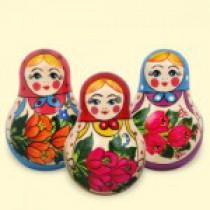 Tentetieso, muñeca rusa, 10 cm