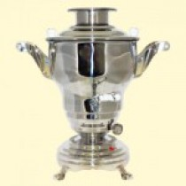 Samovar electrico 4 l, acero inoxidable