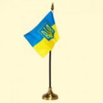 "Banderin de mesa ""Ucrania"", 10х15 cm"