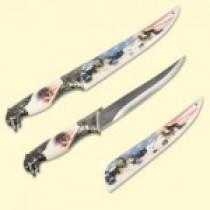 """Cuchillo decorativo """"El lobo"""", 34 см"""