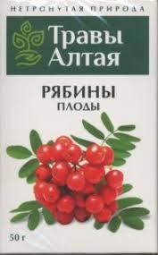 Плоды рябины  100 г.