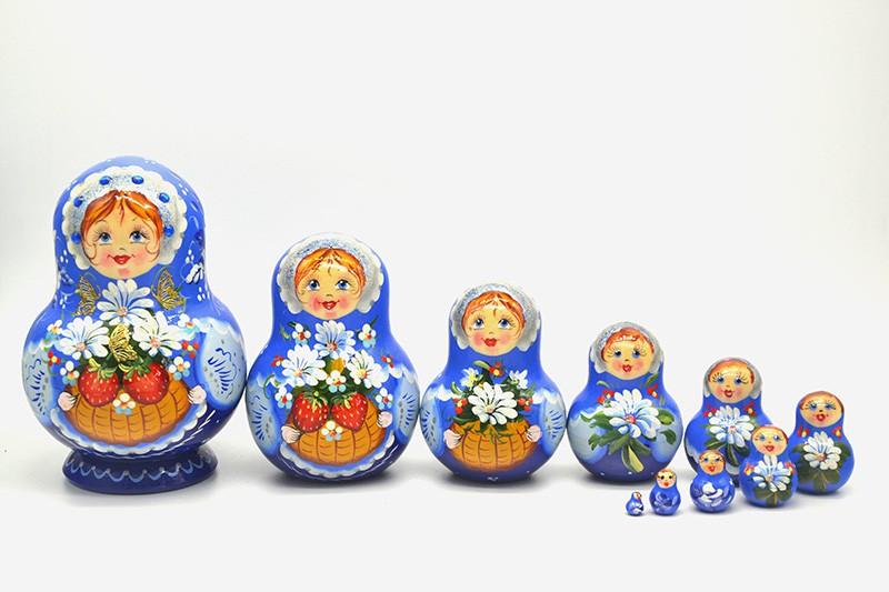 МАТРЕШКА КЛУБНИЧКА М10