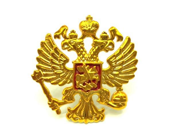 Значок Кокарда Россия
