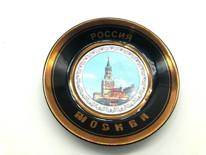 Тарелка декоративная, диаметр 11 см