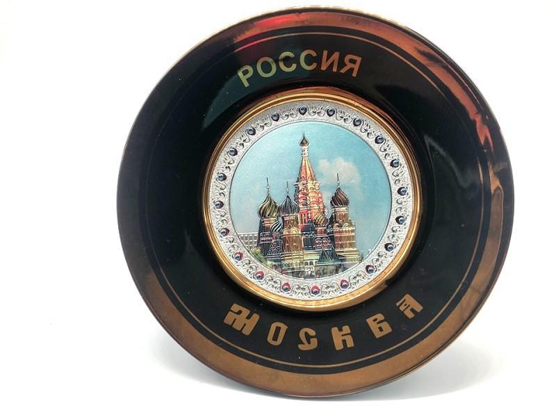 Тарелка коллекционная,  Собор Василия Блаженного