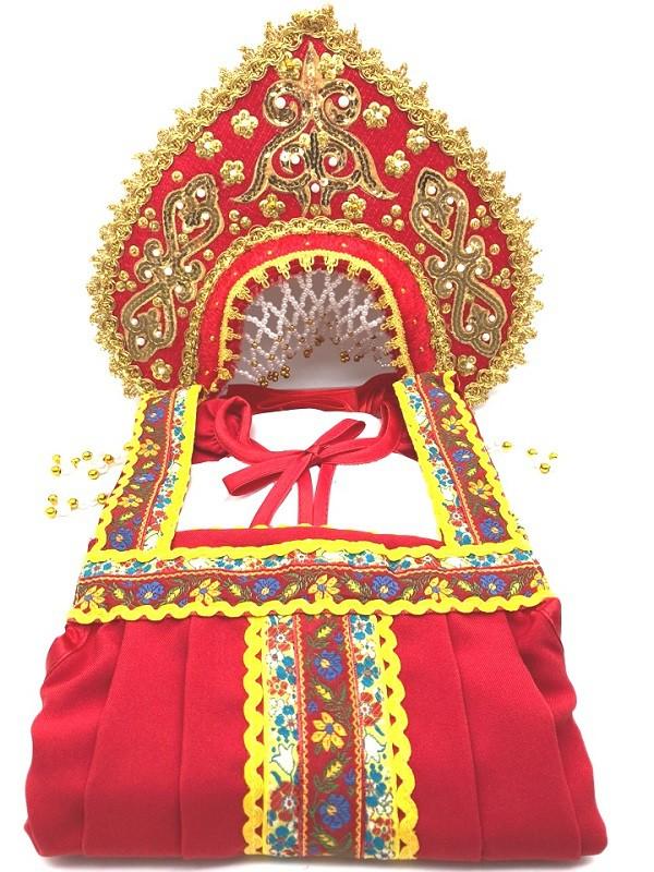 Русский национальный костюм + кокошник