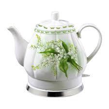 Чайник керамический, электрический 1,7л