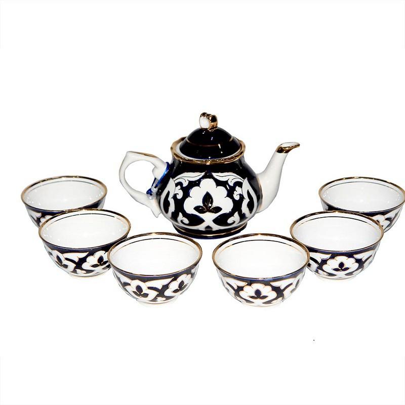 Сервиз Пахта Гул(6 пиал+чайник)