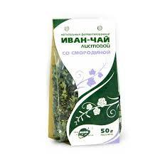 Иван-чай, листовой со смородиной, 50г