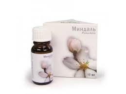 Натуральное косметическое масло Миндаль, 10 мл