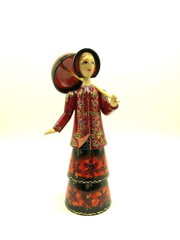 """Кукла """"Барышня с зонтиком"""" 27 см"""