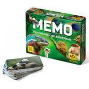 Настольная игра Мемо Удивительные животные, 50 карточек