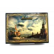 Шкатулка Москва, 10*14 см