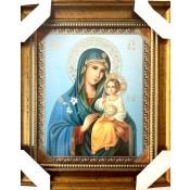 Икона божьей матери Неувядаемый цвет, 20*23 см