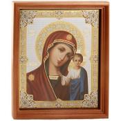 Икона Казанской божьей матери 20:24 см