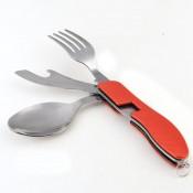 Набор для пикника раскладной( нож, вилка, ложка)
